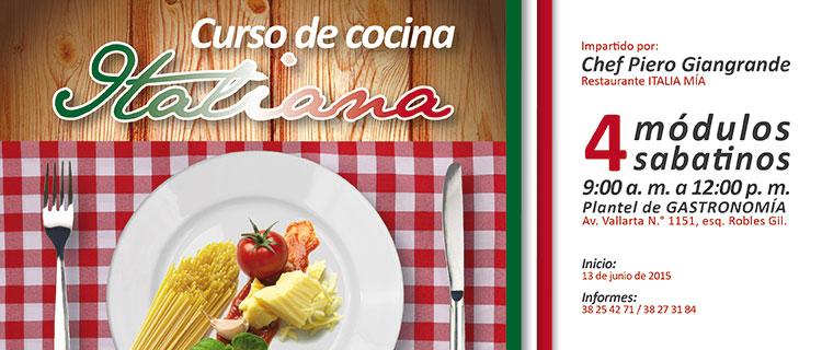 Curso de cocina italiana universidad enrique d az de le n - Curso de cocina italiana madrid ...